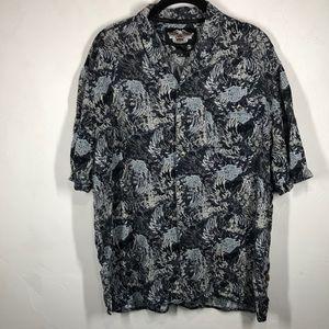 Harley-Davidson button down shirt size large